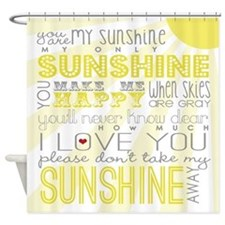 sunshine11 Shower Curtain