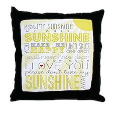 sunshine11 Throw Pillow