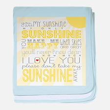 sunshine11 baby blanket