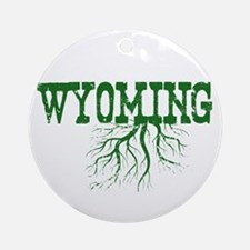 Wyoming Roots Ornament (Round)