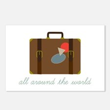 World Luggage Postcards (Package of 8)