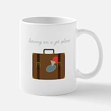 Plane Luggage Mugs