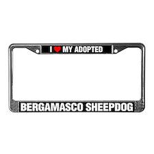I Love My Adopted Bergamasco Sheepdog