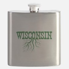 Wisconsin Roots Flask