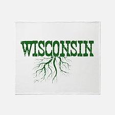 Wisconsin Roots Throw Blanket