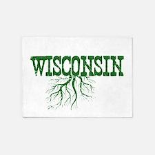 Wisconsin Roots 5'x7'Area Rug