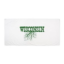 Wisconsin Roots Beach Towel