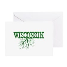 Wisconsin Roots Greeting Card