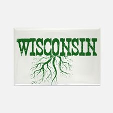 Wisconsin Roots Rectangle Magnet