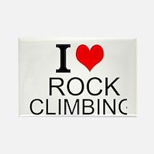 I Love Rock Climbing Magnets