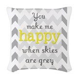 You are my sunshine Woven Pillows