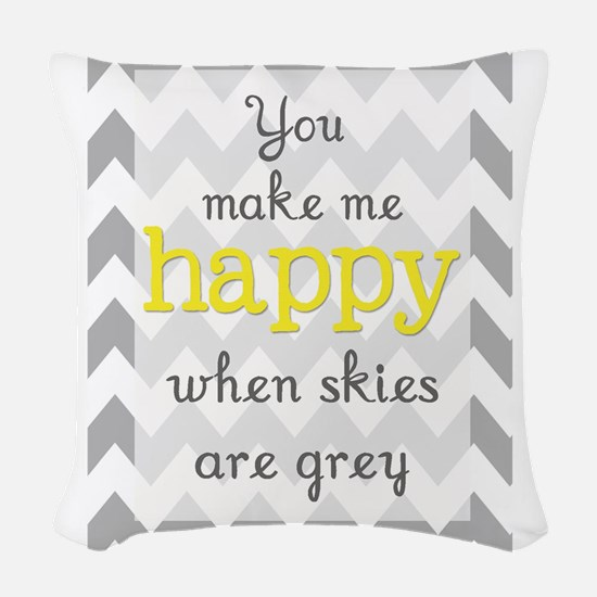 sunshine9 Woven Throw Pillow