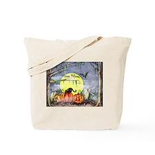 Halloween Scene Tote Bag