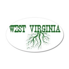 West Virginia Roots Wall Decal