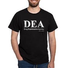 """DEA """"Drug Examination Agency"""" Dark Tee"""