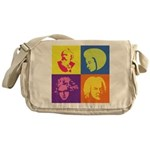 Classical Composer Pop Art Messenger Bag