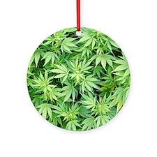 Cannabistic Ornament (Round)