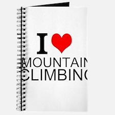 I Love Mountain Climbing Journal