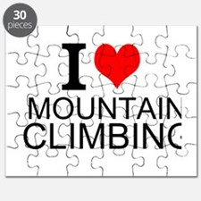 I Love Mountain Climbing Puzzle
