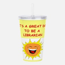 LIBRARIAN.png Acrylic Double-wall Tumbler