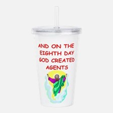 AGENTS.png Acrylic Double-wall Tumbler