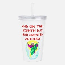 AUTHORS.png Acrylic Double-wall Tumbler