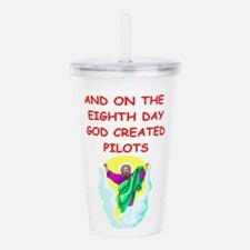 PILOTS.png Acrylic Double-wall Tumbler