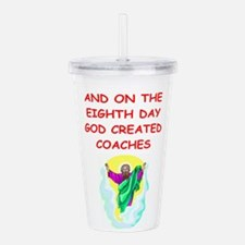 COACH.png Acrylic Double-wall Tumbler