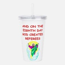 REFEREES.png Acrylic Double-wall Tumbler