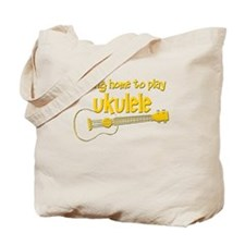 Play Ukulele Tote Bag