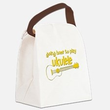 Play Ukulele Canvas Lunch Bag