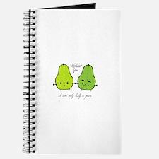 Half A Pear Journal