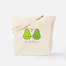 Half A Pear Tote Bag