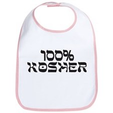 100% Percent Kosher Bib