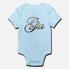Gold Gia Body Suit
