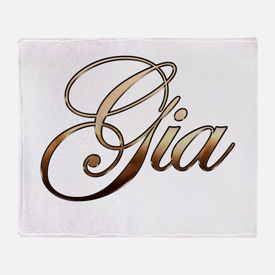 Cute Gia Throw Blanket