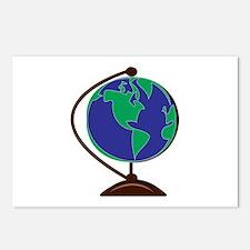 Desk Globe Postcards (Package of 8)