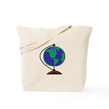 Desk Globe Tote Bag