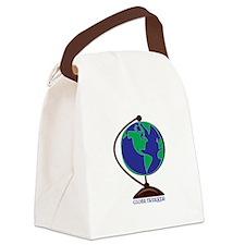 Globe Trekker Canvas Lunch Bag