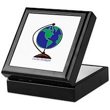 Globe Trekker Keepsake Box