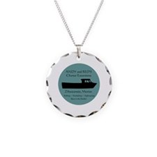 Zihuatanejo Charter Boats Necklace