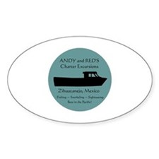 Zihuatanejo Charter Boats Decal