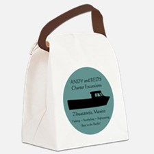 Zihuatanejo Charter Boats Canvas Lunch Bag
