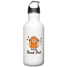 Marching Band Dad Music Robot Water Bottle