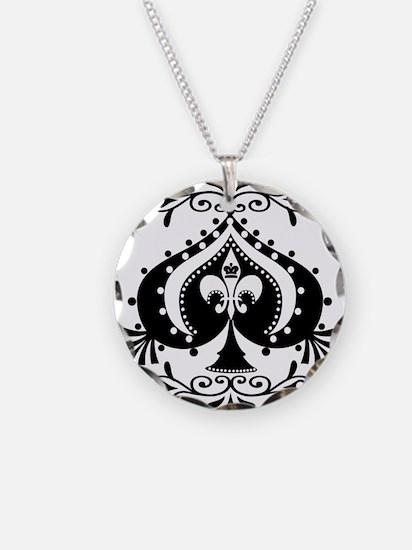 Cute Poker Necklace