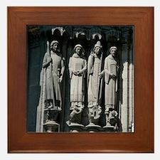 St Maurice (left), St Stephen, St Clem Framed Tile