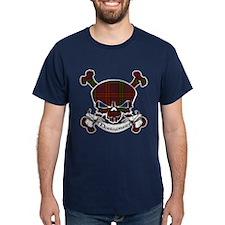 Montgomery Tartan Skull T-Shirt