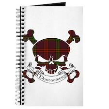 Montgomery Tartan Skull Journal