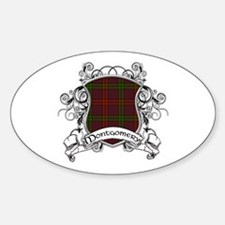 Montgomery Tartan Shield Decal