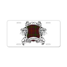 Montgomery Tartan Shield Aluminum License Plate